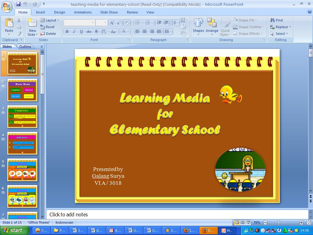 contoh powerpoint presentation
